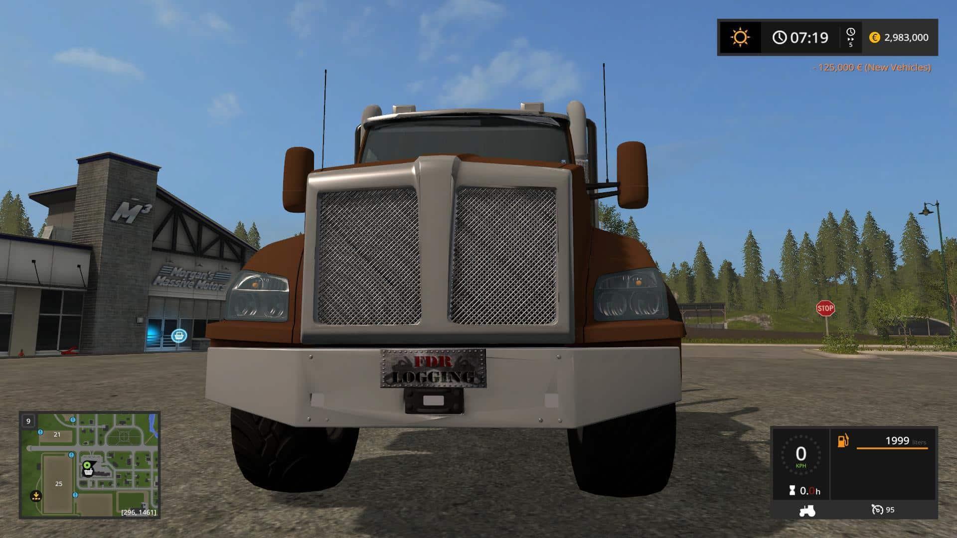 Logging Truck Fixed Bunk v1.0