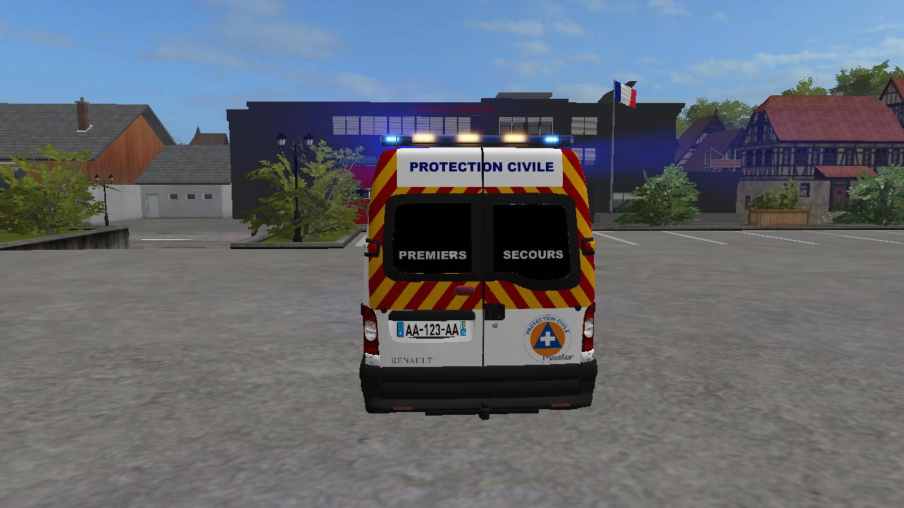 Master Protection Civil de PARIS