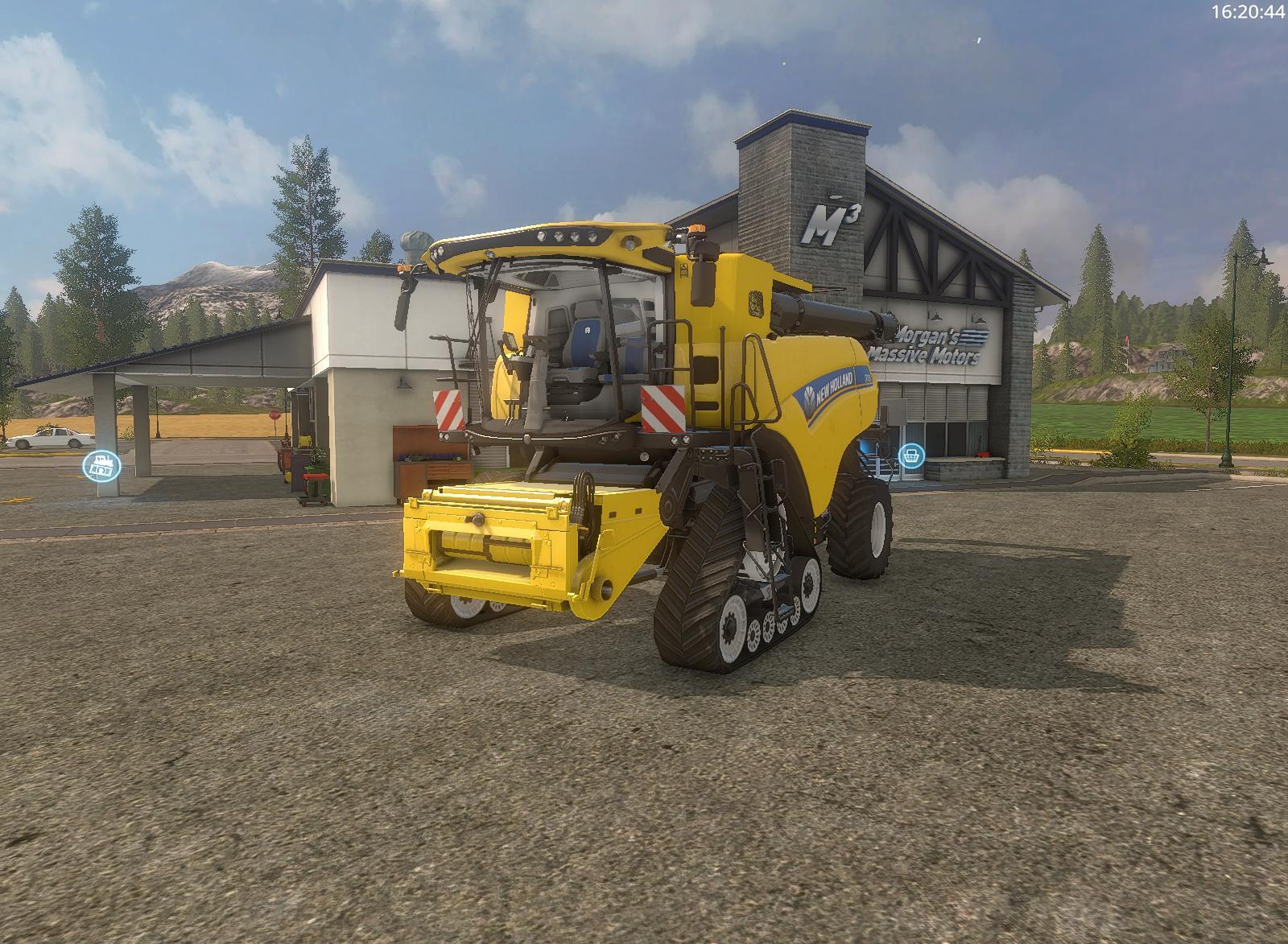 New holland CR10.90 2K17 v1.0