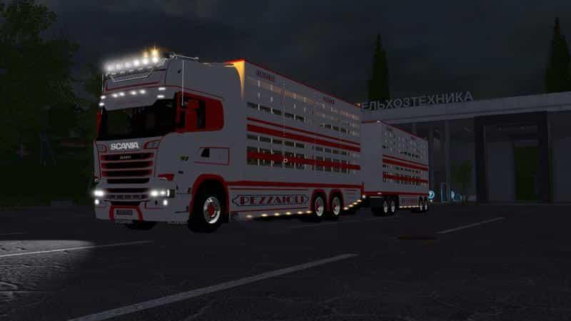 Scania R730 animal transports v2.2
