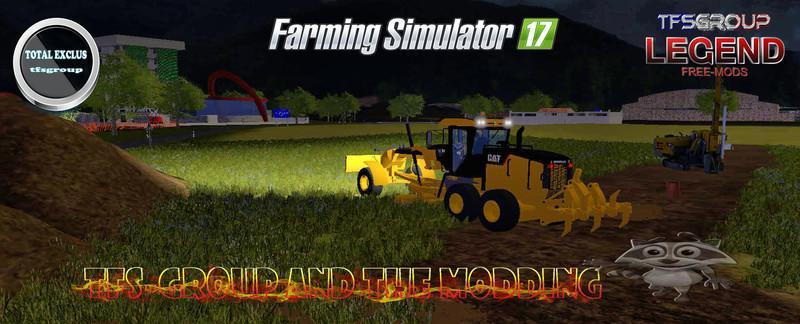 TFSG GRADER AWD 140H CATERPILLAR v2.0