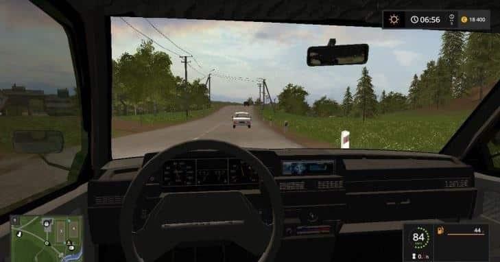 VAZ 2109 Farming simulator 17 v1.0