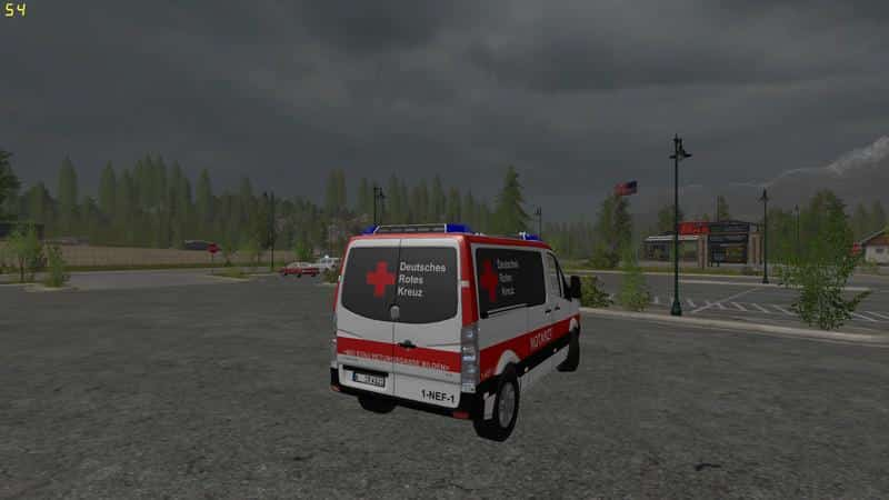 Volkswagen Crafter Emergency Doctor Skin v1.0