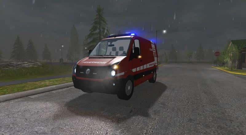 VW Crafter Einsatzleitwagen v0.9 BETA