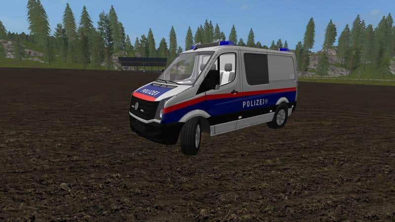 VW Crafter Police Austria Skin v1.0