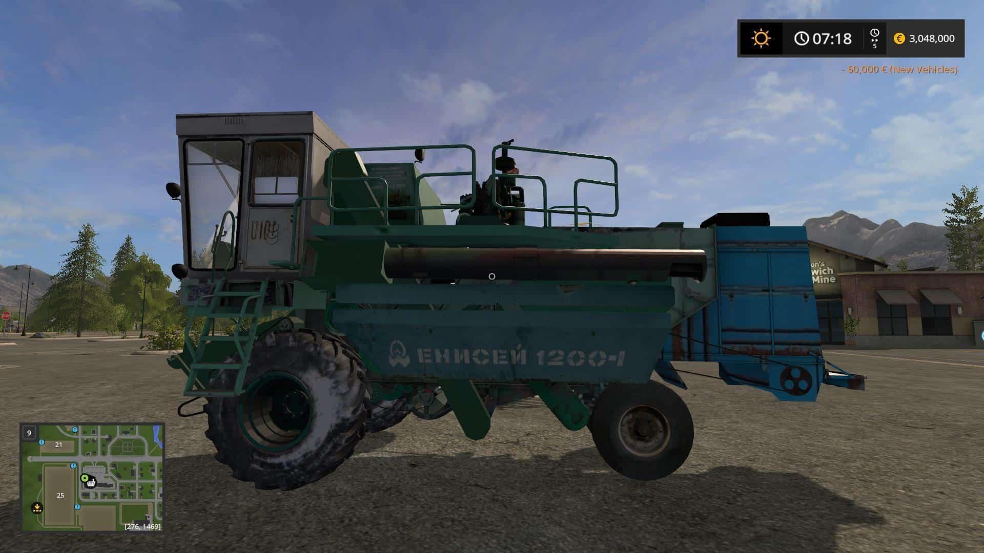 Yenisei 1200 with reaper and kopnitelem v1.1
