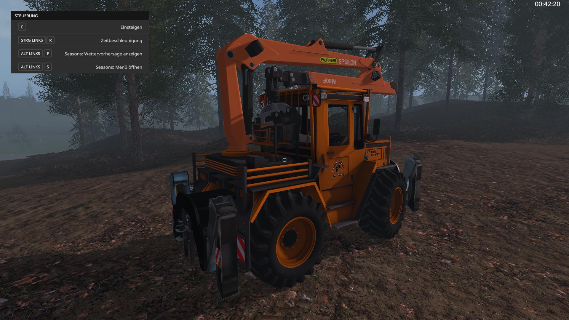 MB Trac 1000 Turbo Forst Edition v1.0