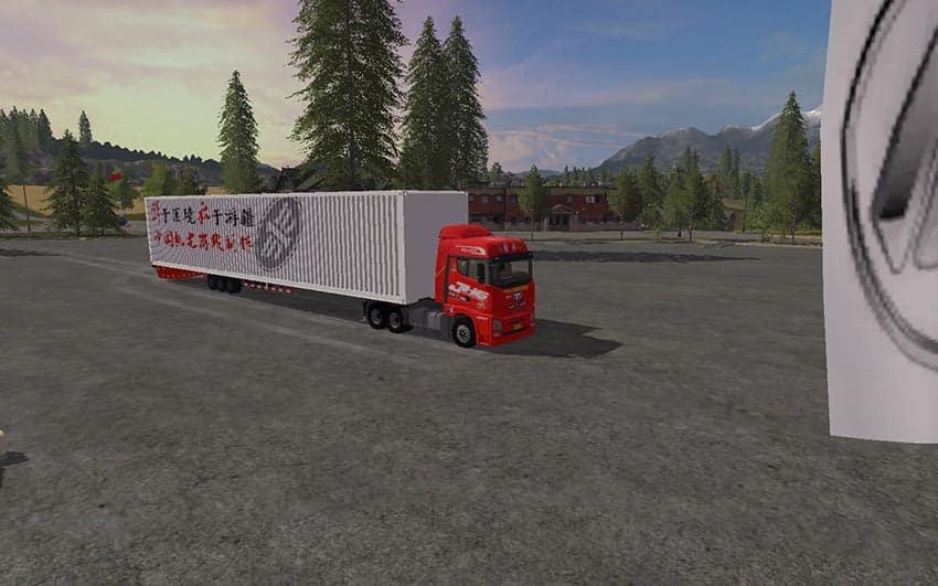 China FAW JH6 6×4 AND TRAILER V 1.0