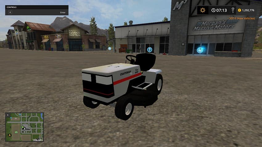 Craftsman Mower v 1.0