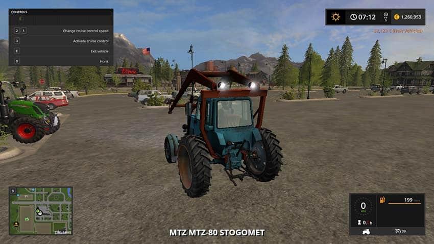 MTZ 80 Stogomet v 1.0