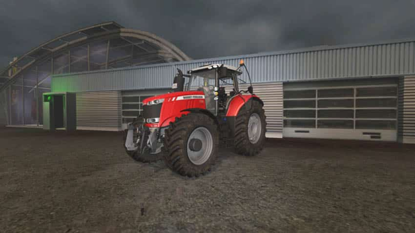 Massey Ferguson 7700 More Realistic V 2.0 [MP]