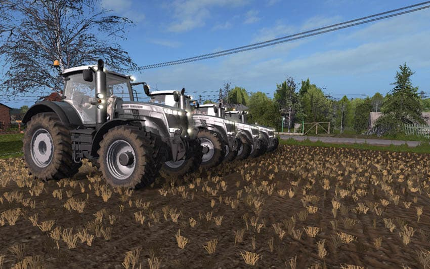 Massey Ferguson 8700 Black Edition V 1.0 [MP]