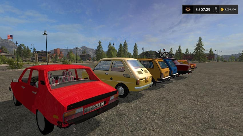 Old Car Pack v 1.0