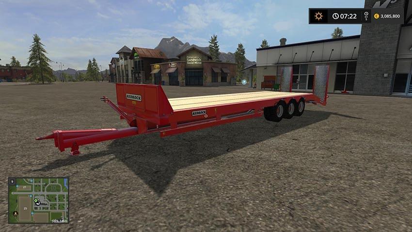 Redrock bale trailer v 1.0