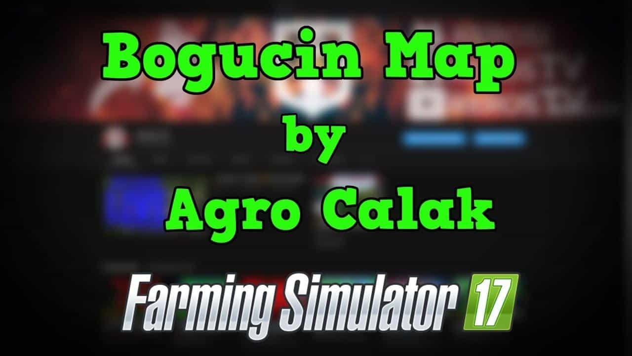 Bogucin Map by Agro Calak