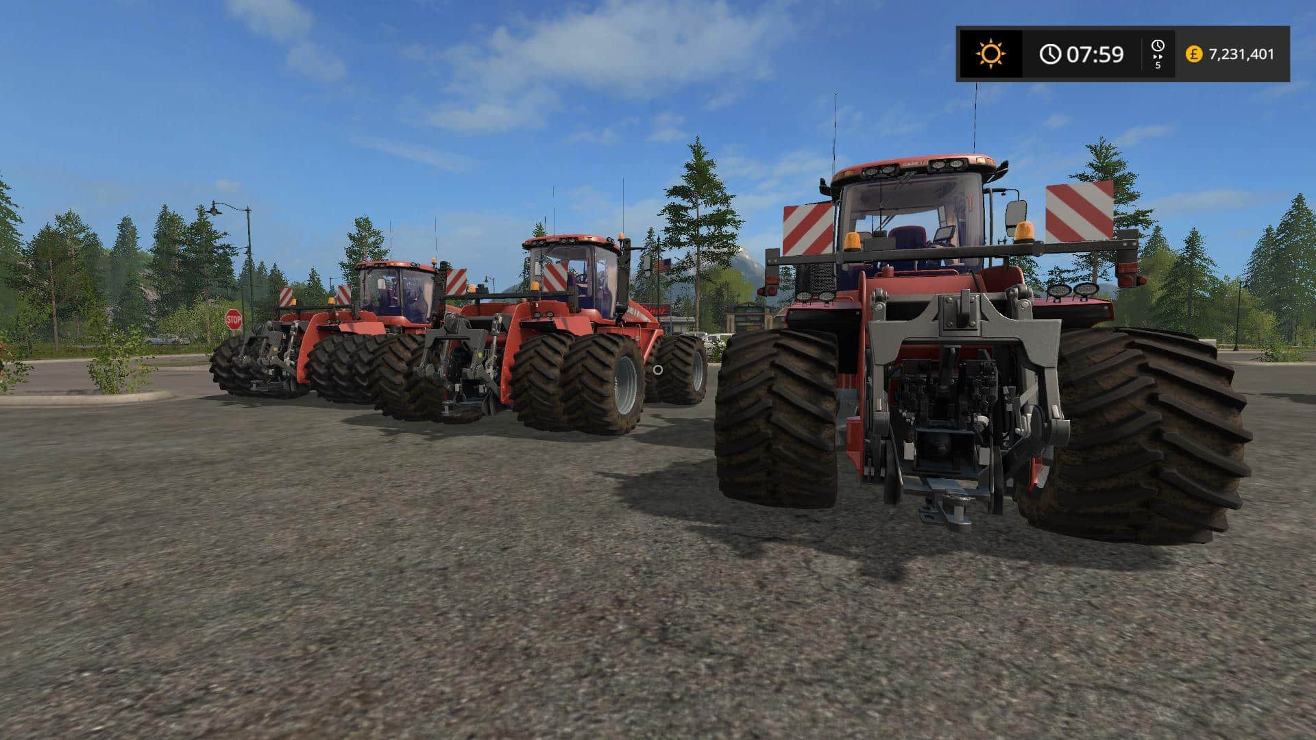 Case IH 620W by Stevie