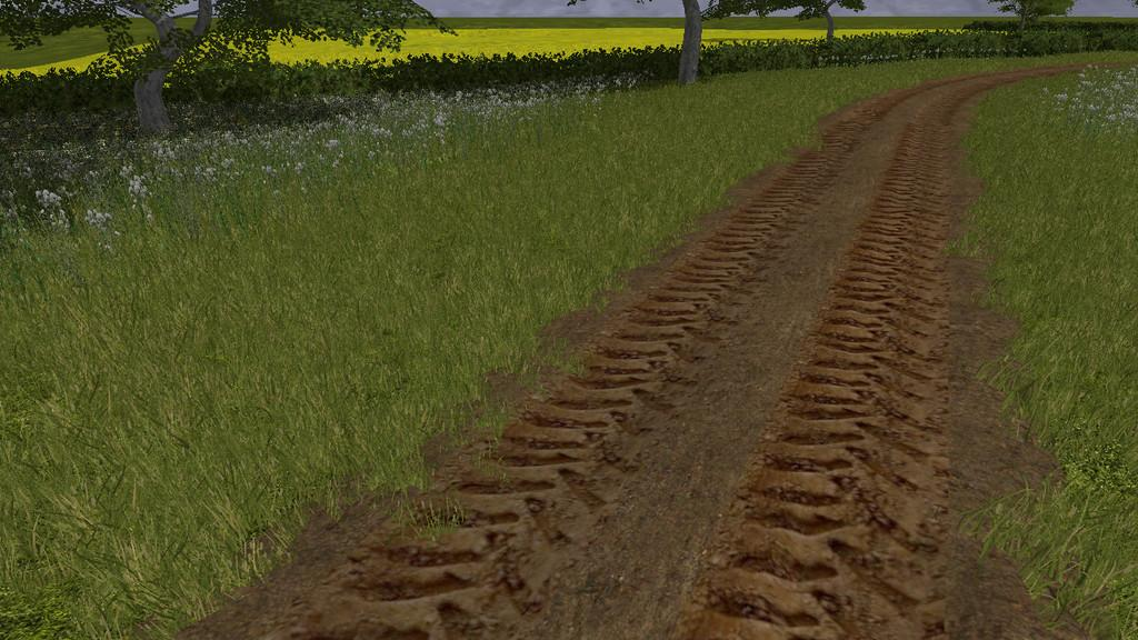 Dirt Track Road Kit (Prefab) v1.0