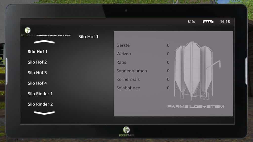 FarmingTablet - App: Farmilosystem v1.0