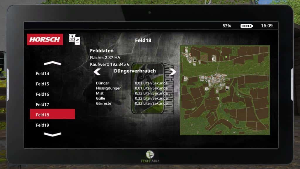 FarmingTablet - App: Horsch Management v1.0.0.0