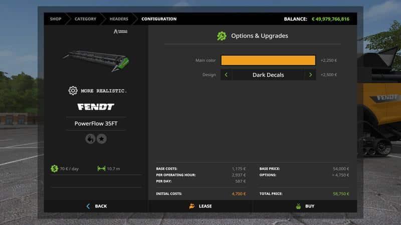 Fendt 9490 X More Realistic v1.0
