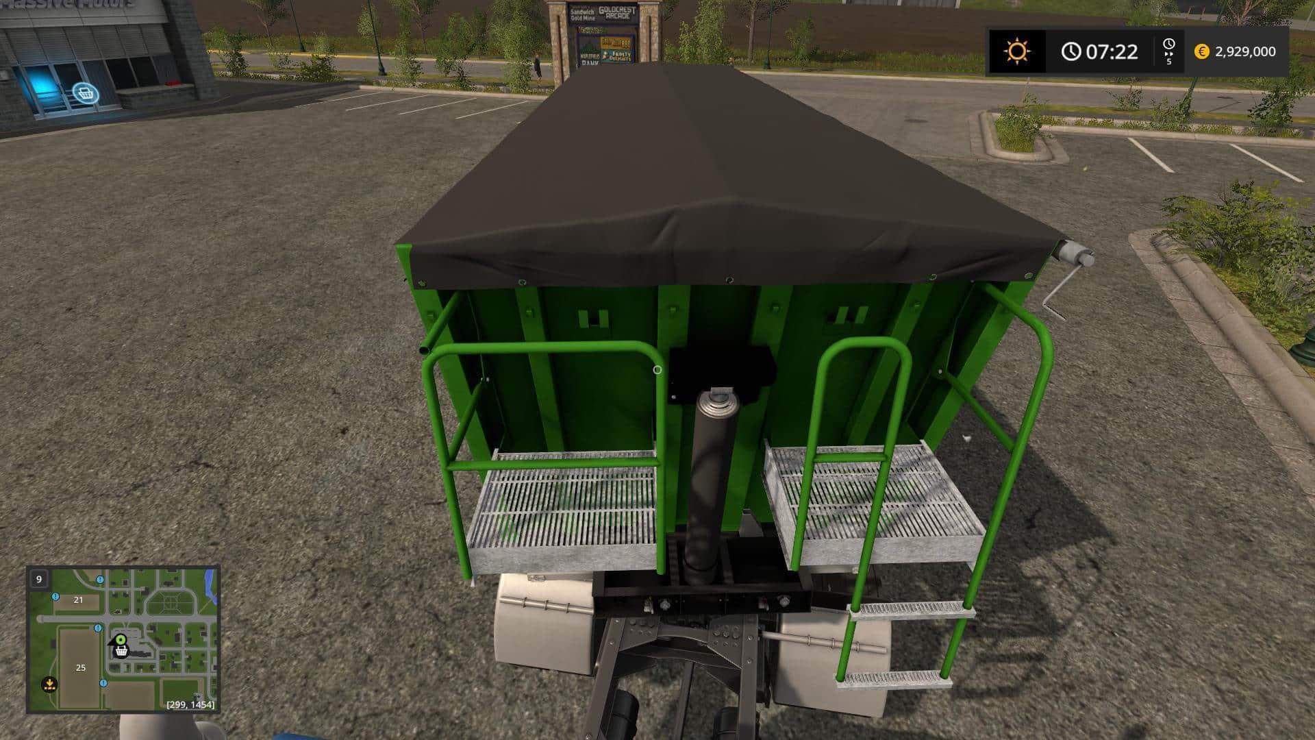 Fliegl Green Line Trailer v2.0