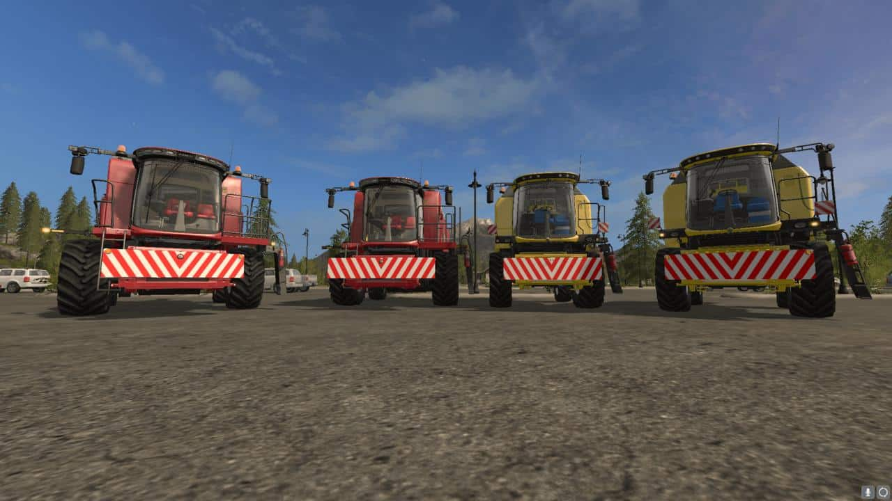 Front shield for combines v1.0.0.1