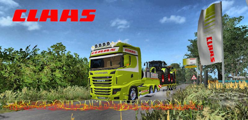 FS17 CLAAS TRAILER TFSG v1.0