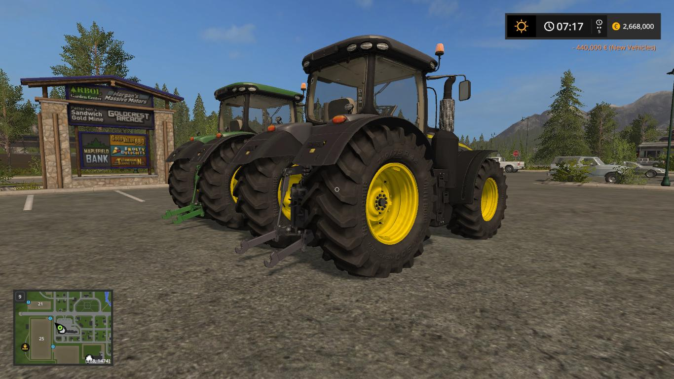 JOHN DEERE 8R NEW PACK v1.0