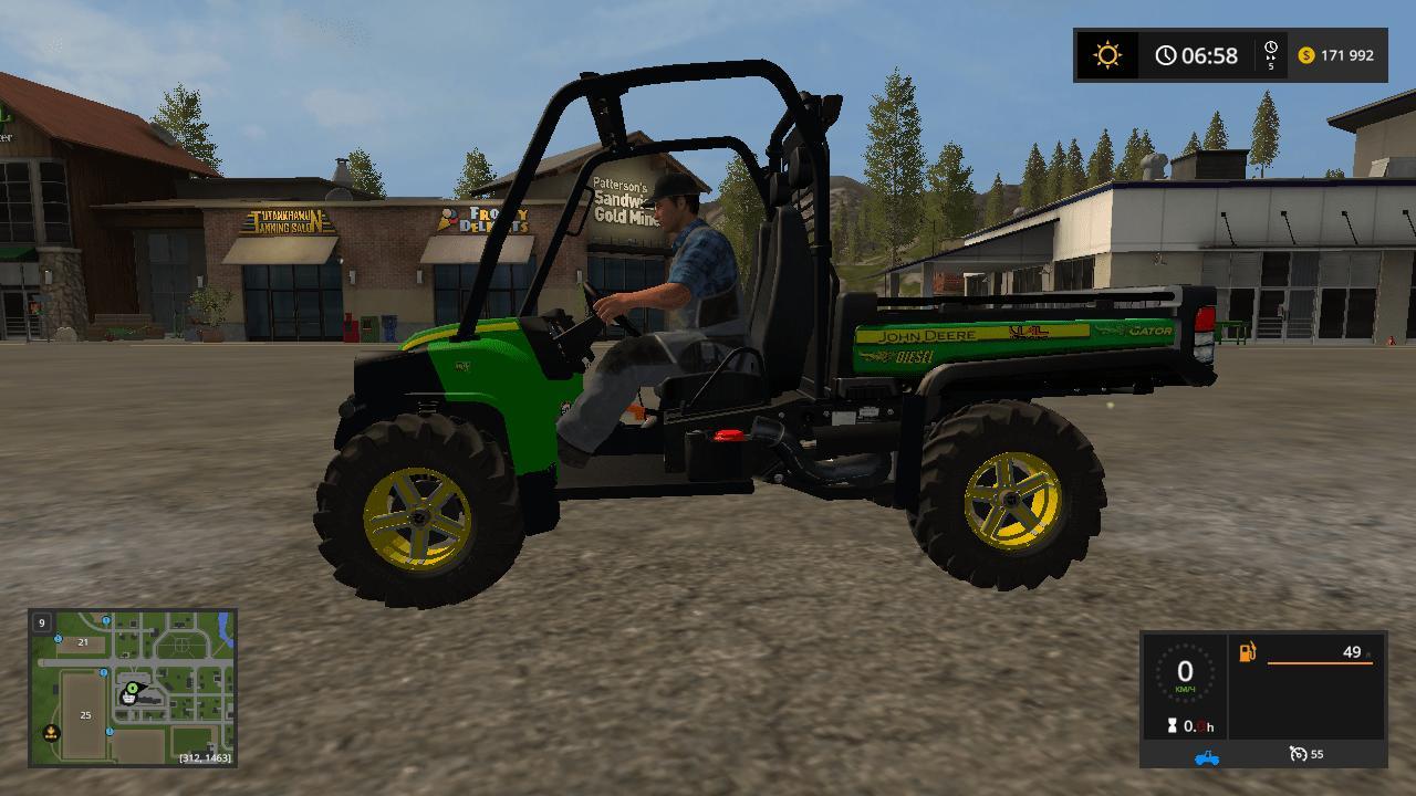 John Deere HPX Gator v1.1.0