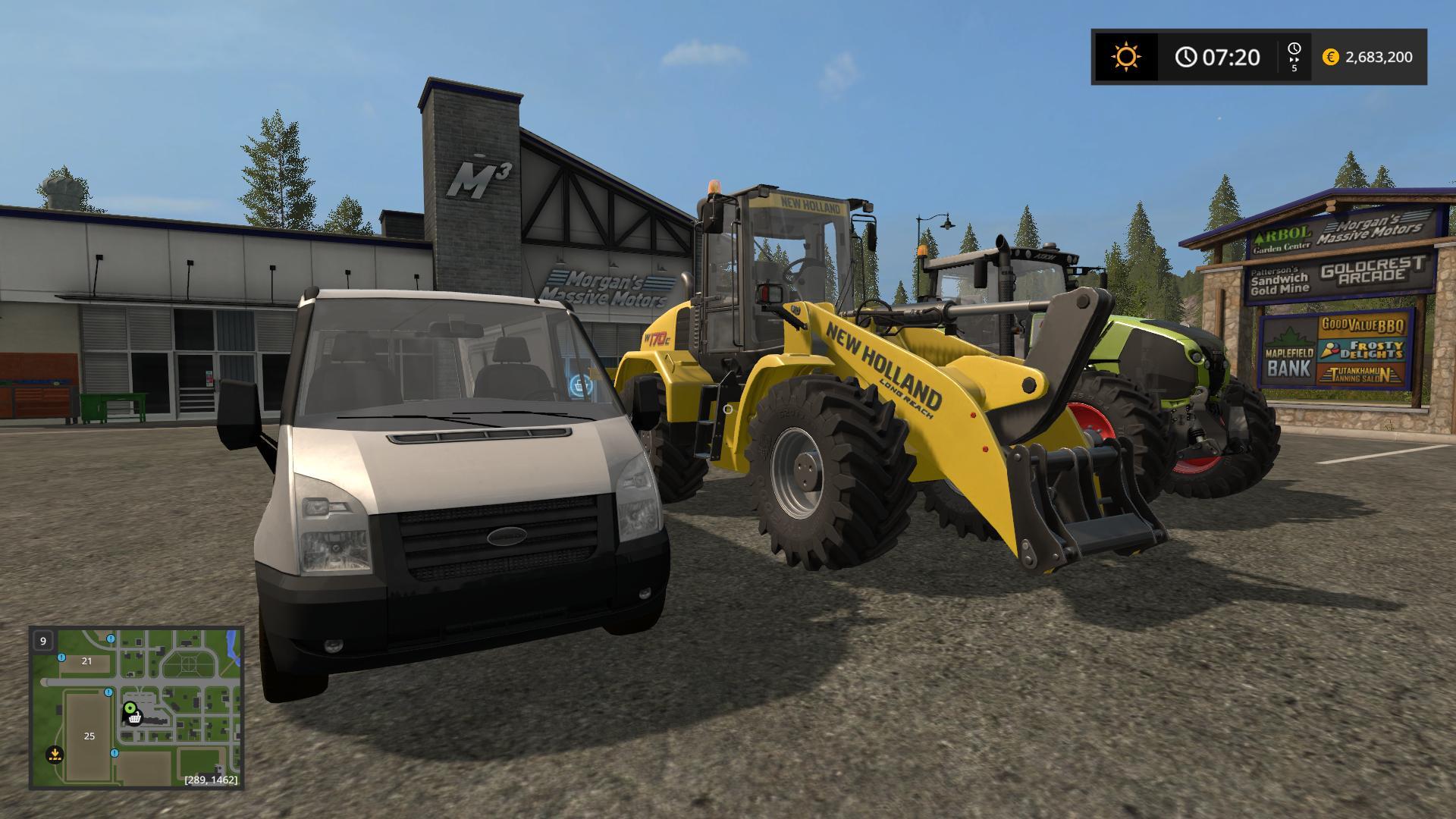 Joshx55 Modding Tractor Pack FS17 v1.0