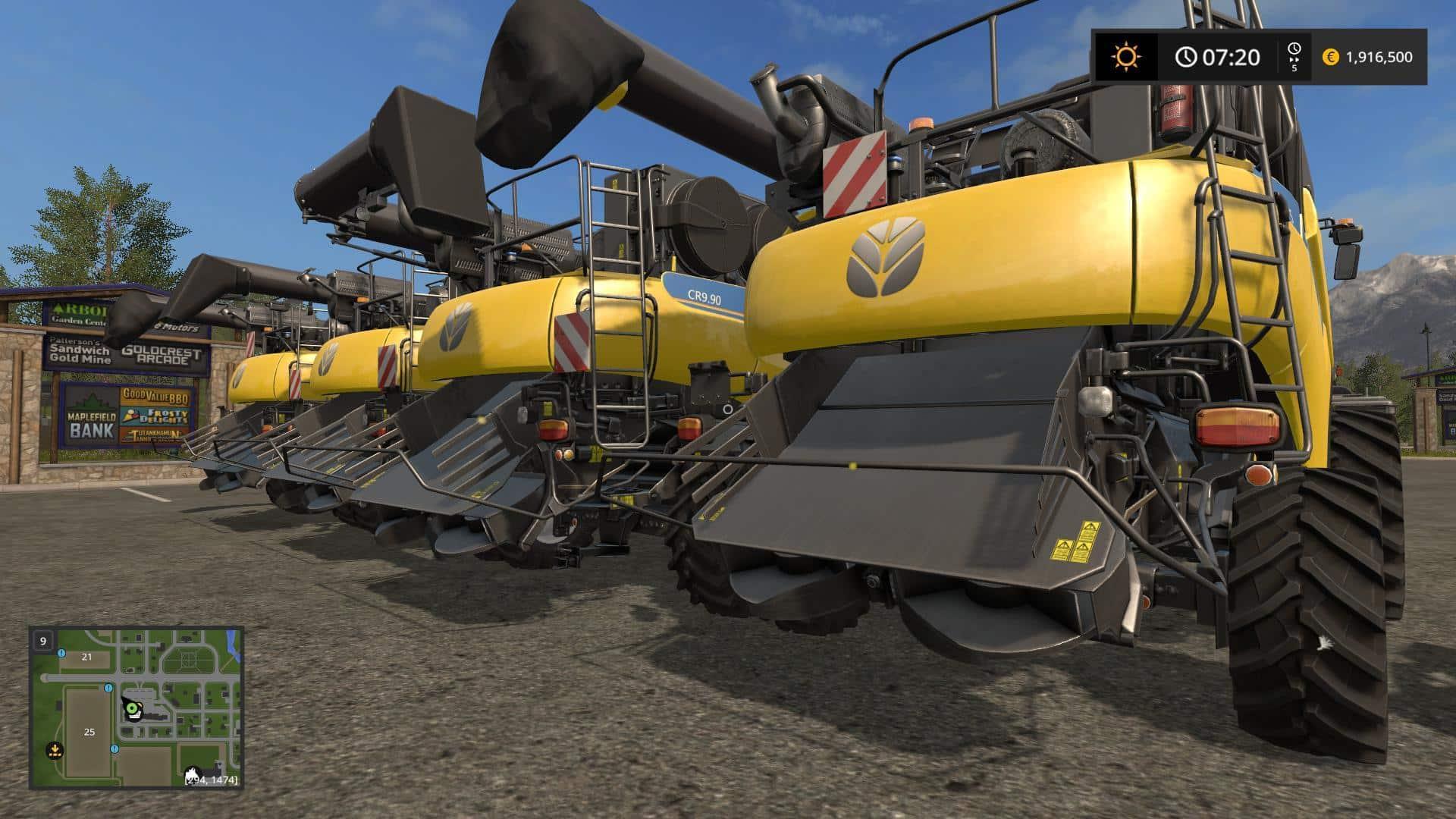 New Holland CR Extended Pack v1.0