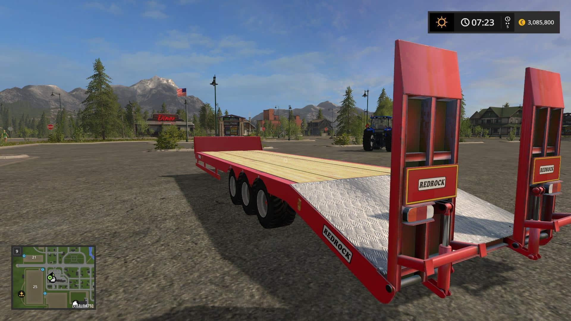 Redrock bale trailer convert v1.0