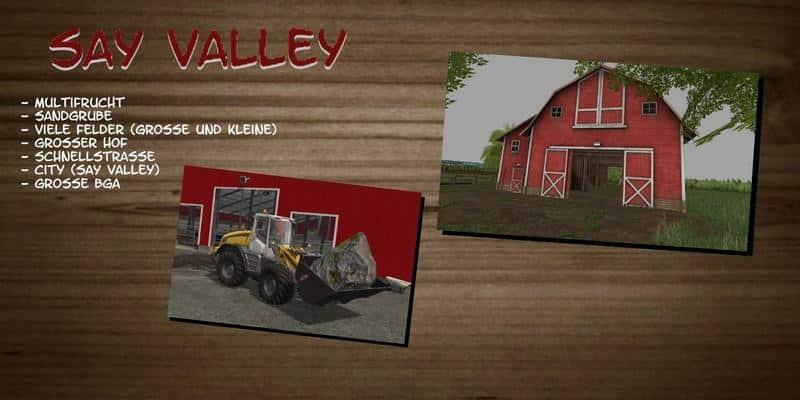 Say Valley v1.0 Mulitfruit