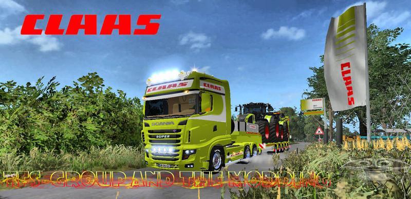 Scania 700 EVO Skin Claas v1.0