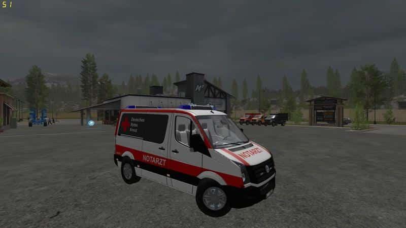 VW Crafter Emergency Doctor Skin v3.0