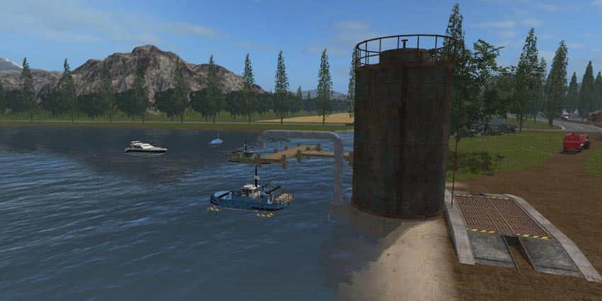Boat Fishing River V 1.0 [MP]