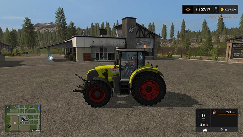CLAAS Arion 650F v 1.0