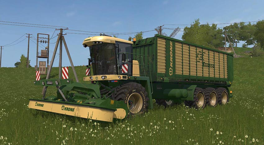 KRONE BIG MOWER v 1.0.0.2b