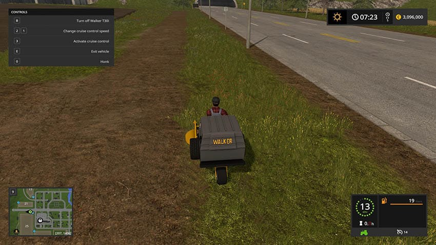 Mower Pack With Bobcat Mower v 1.0