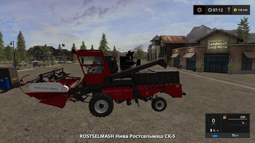Niva Rostselmash Pack v 1.0.1.0