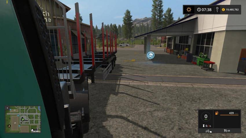 Reversing camera for truck V 1.1 [SP]