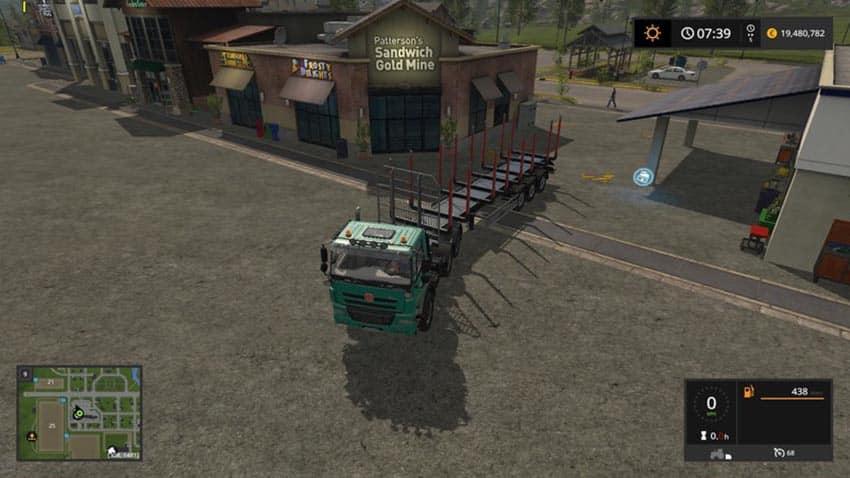 Reversing camera for truck V 1.2 [SP]