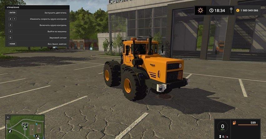 Russian BIG Tractors Pack v 1.0