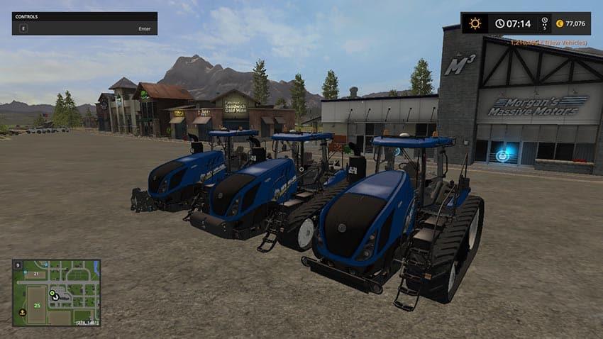 Unofficial New Holland T7 315 TT V 1.15 [SP]