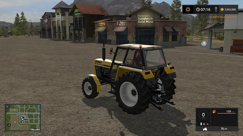 Ursus 385-4 W drive v 1.0