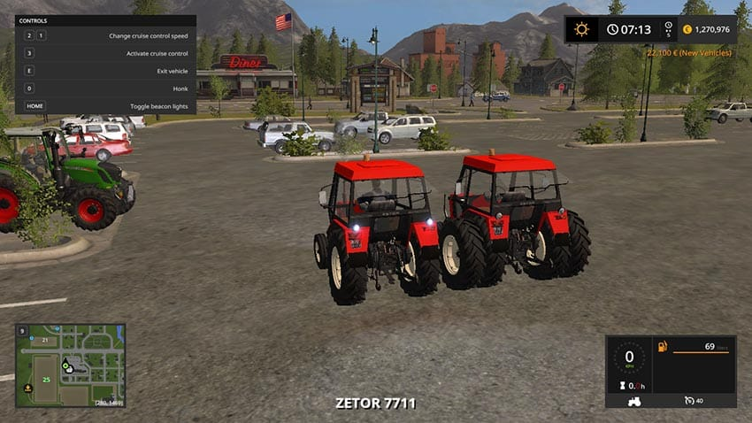 Zetor 7711 v 2.0