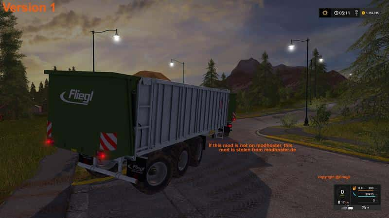 Fliegl giant ASW 391 v3.1