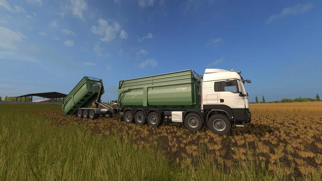 Krampe BIG BODY 700 Container v1.0