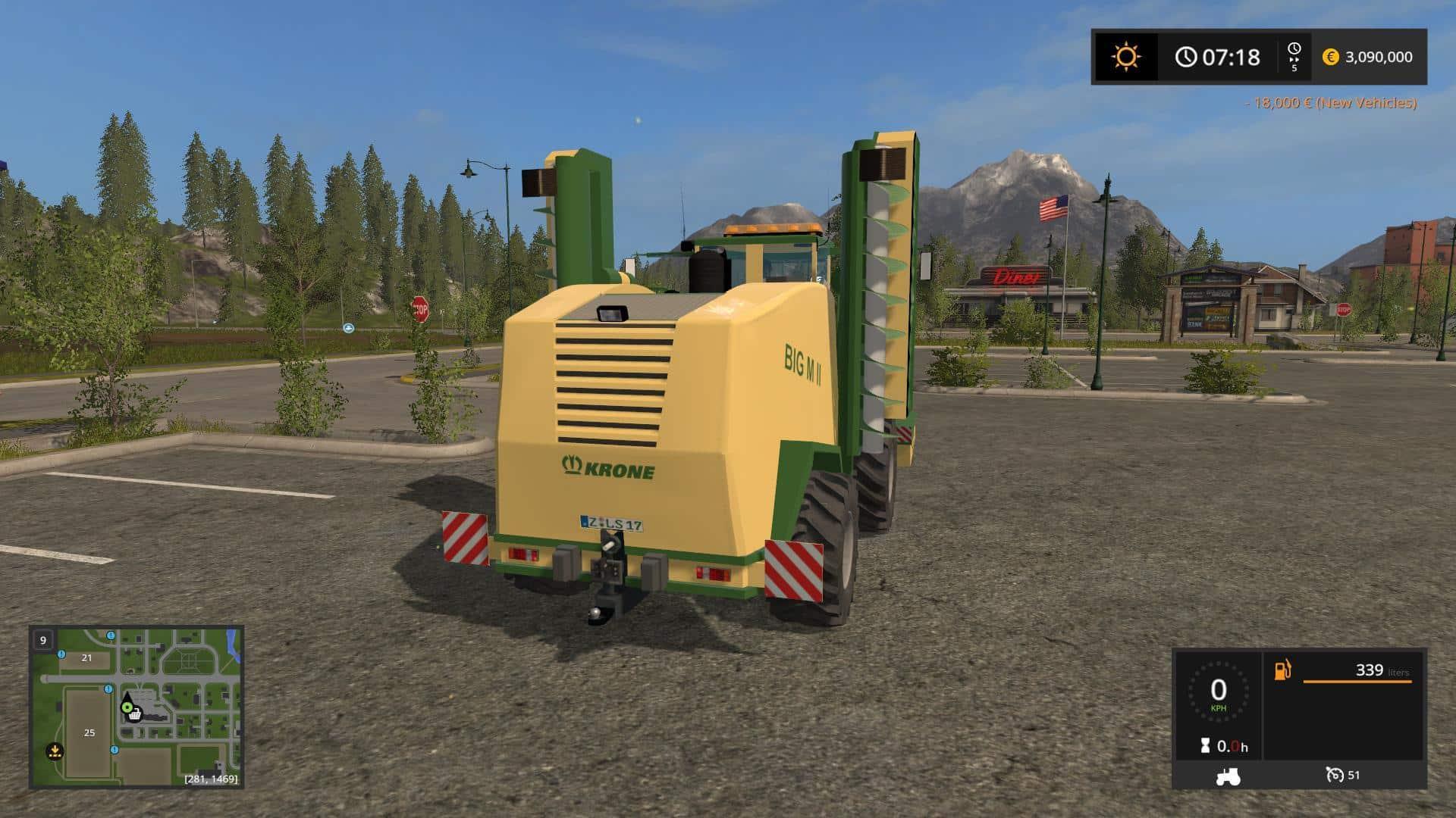 Krone BigM II LS17 v1.0