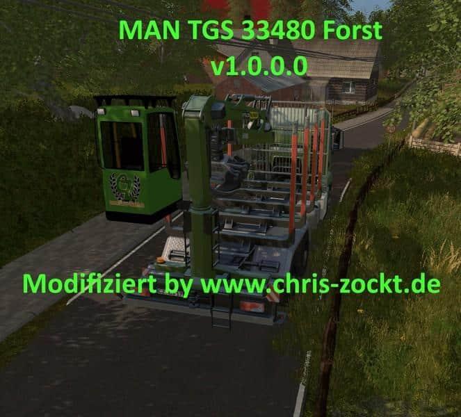 MAN TGS forestry v1.0.0.0